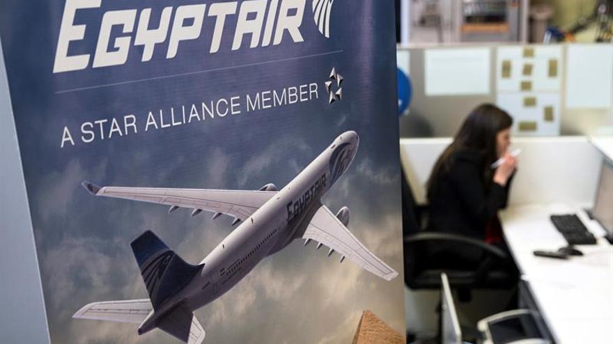 Hallan la segunda caja negra del avión de Egyptair siniestrado en mayo