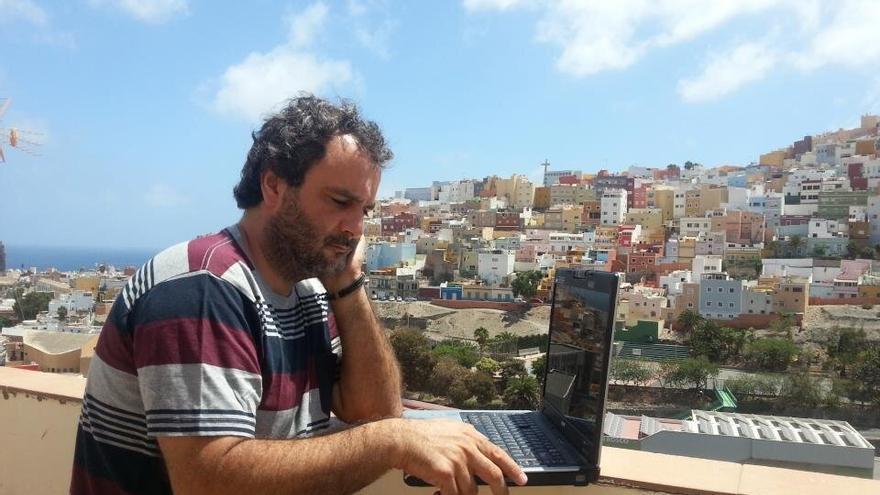 El periodista Juan García Luján.