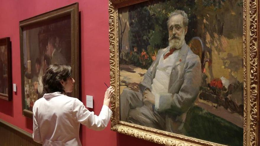 El museo sorolla reivindica el xito internacional del - Pintor valenciano ...