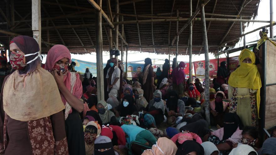 AI pide protección para los rohinyás en Bangladesh tras choques con 8 muertos