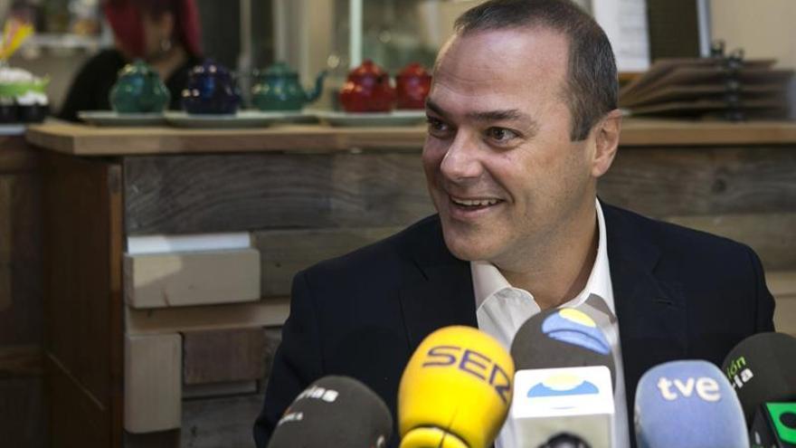 El candidato del PSOE a alcalde de Las Palmas de Gran Canaria, Augusto Hidalgo. Foto: EFE / Quique Curbelo