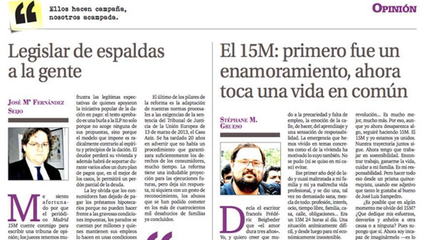 Madrid15M opinion
