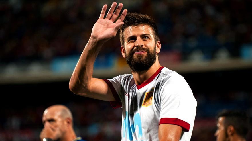 """Pique de Piqué con el árbitro del Chiringuito: """"¡Rafa, no me jodas!"""""""