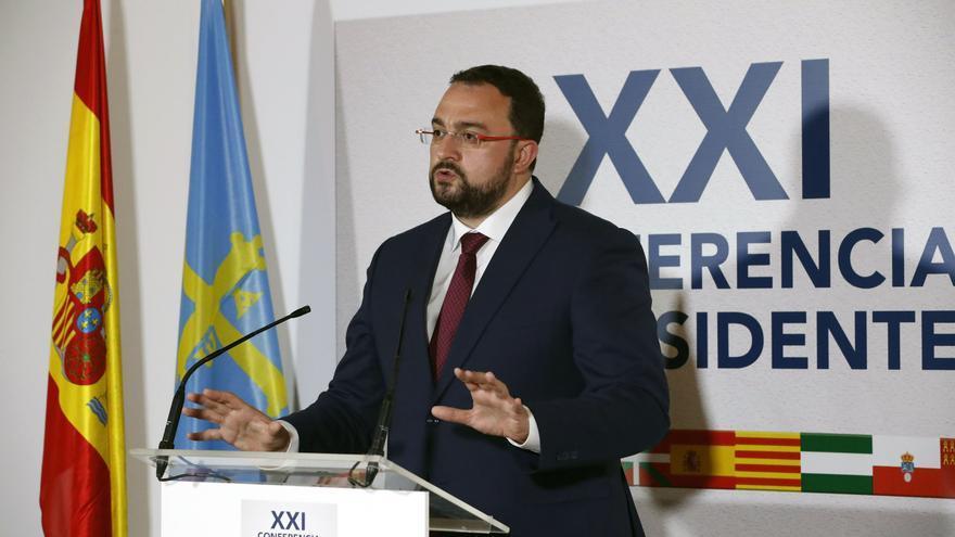 El presidente del Principado de Asturias, Adrián Barbón.
