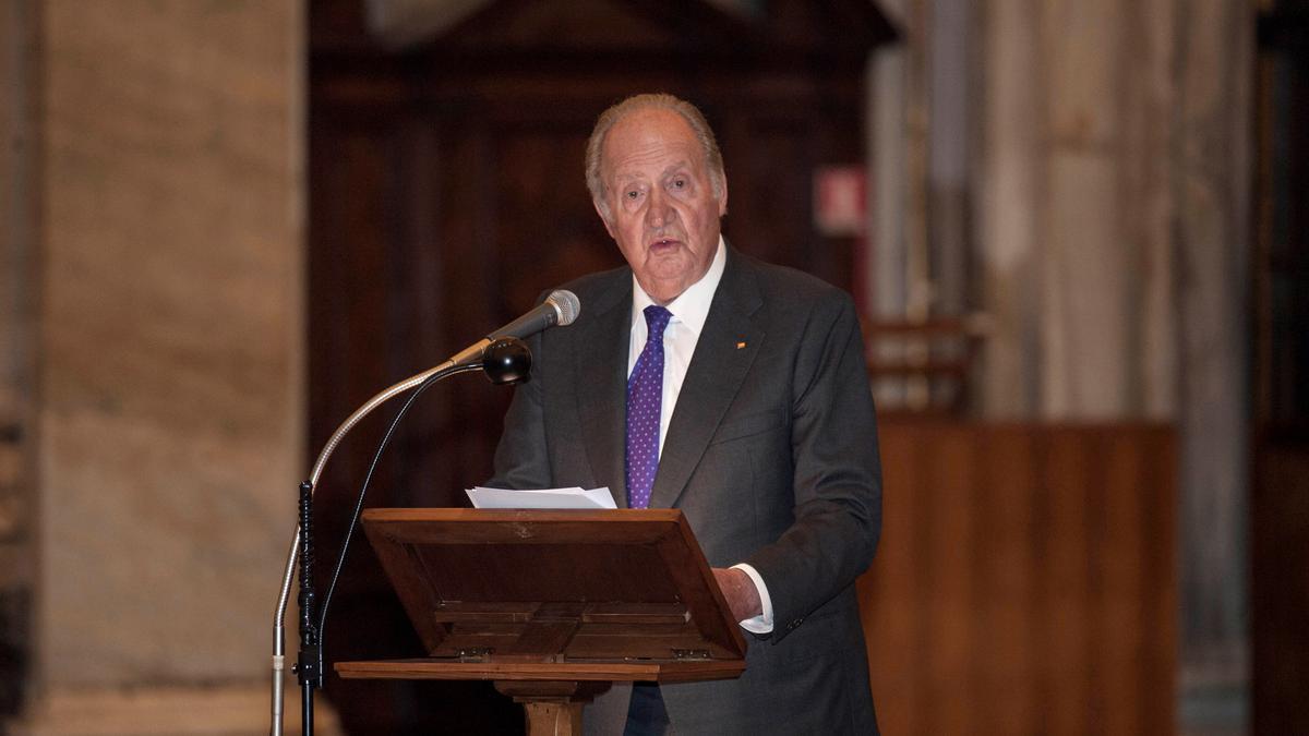 El rey emérito Juan Carlos I en una imagen de archivo