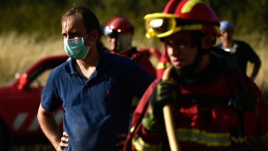 Más de un centenar de personas evacuadas por un gran incendio en Portugal