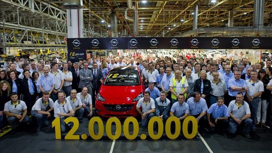 GM España aspira a superar la barrera del medio millón de coches al año