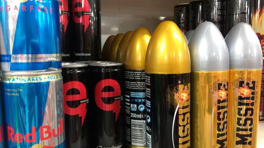 Hay una gran variedad de bebidas energéticas en el mercado.