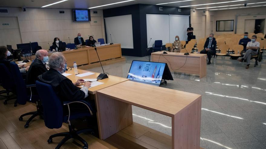 La Audiencia Nacional durante el juicio.