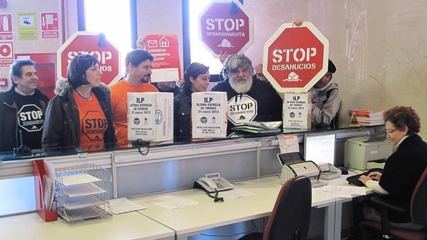 El PSOE recuerda a los Afectados por Hipotecas que es el PP quien aprueba las medidas con su mayoría absoluta