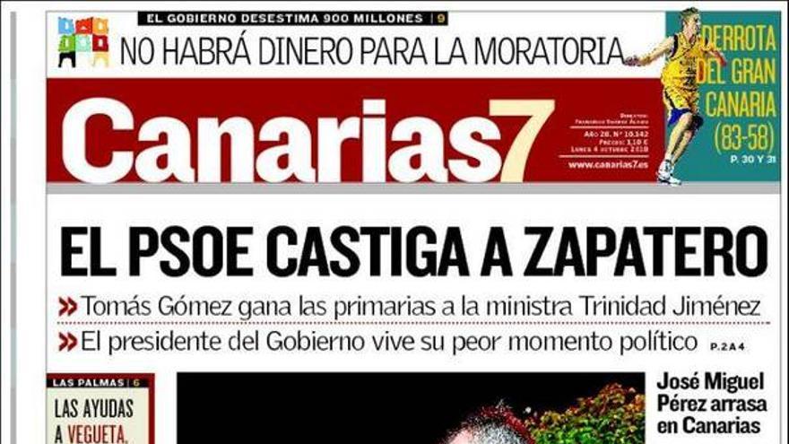 De las portadas del día (04/10/2010) #1