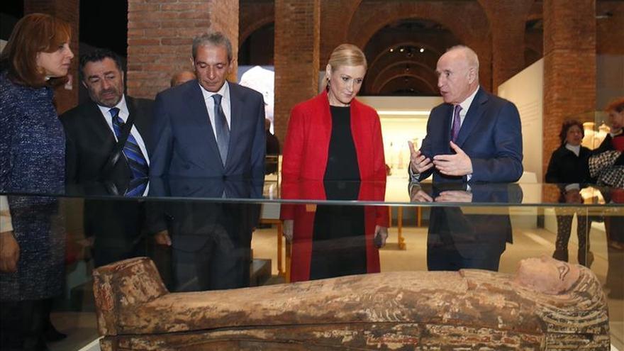 La exposición 'Cleopatra y la fascinación de Egipto' llega a Madrid