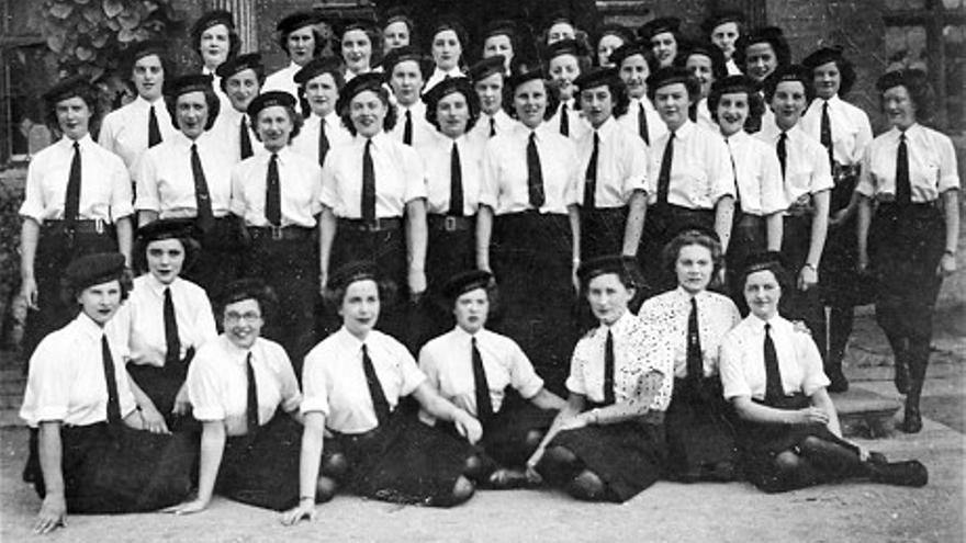 El equipo de descifradoras que operó la Colossus, otra de las máquinas de Bletchley Park