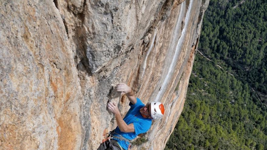 Iker en el quinto largo de 'Babe Magnet' (© J.Canyi - Filmut.com).