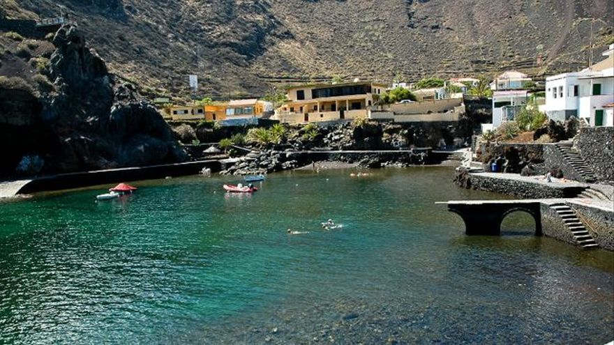 Playa del Tamaduste, en el litoral de Valverde, capital de El Hierro. VIAJAR AHORA