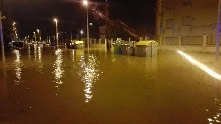 Imagen de Benicarló inundado