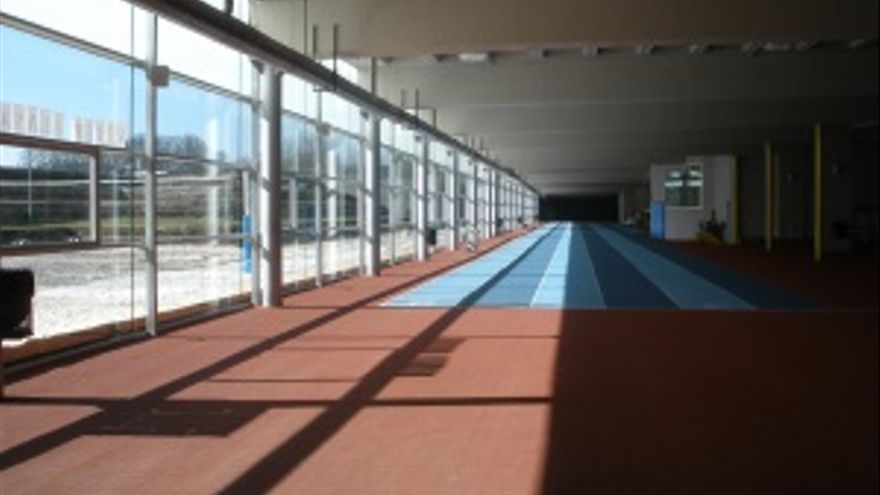 Pista cubierta de atletismo de Mendizorroza