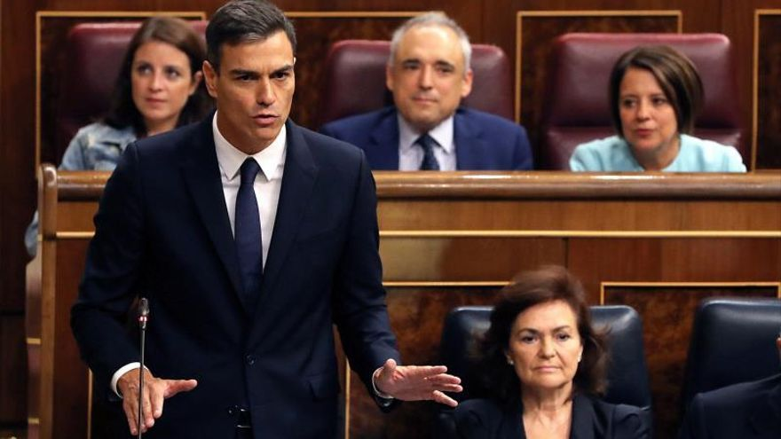 Sánchez defiende la legalidad de la enmienda que el PP amaga con llevar al Constitucional