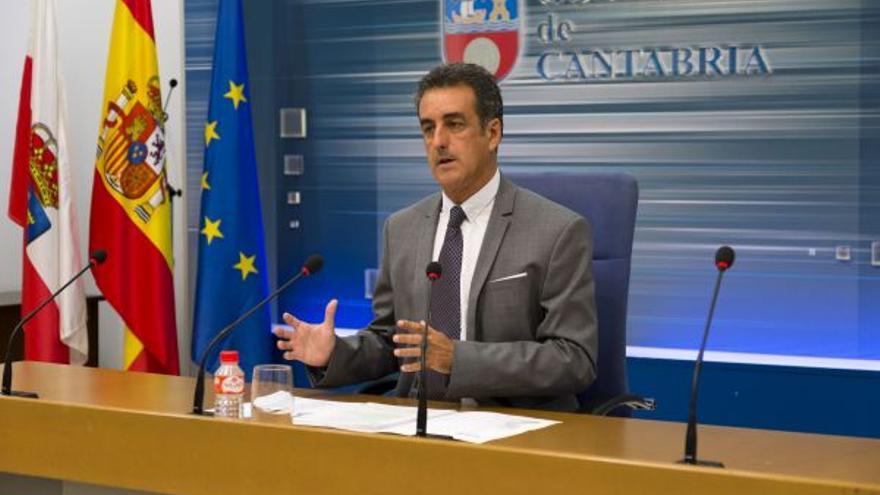 Francisco Martín, consejero de Innovación, Industria, Turismo y Comercio.