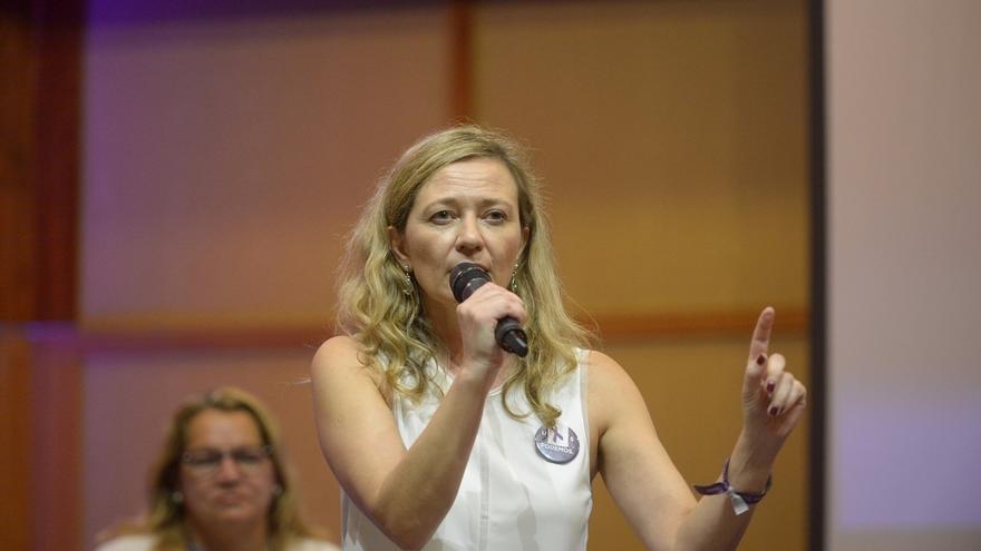 Victoria Rosell (Podemos) protagoniza otro incidente durante el control de pasajeros en el aeropuerto de Gran Canaria