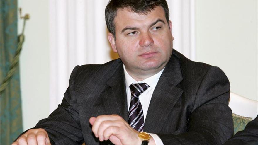 El destituido ministro de Defensa ruso declara en un nuevo caso de corrupción