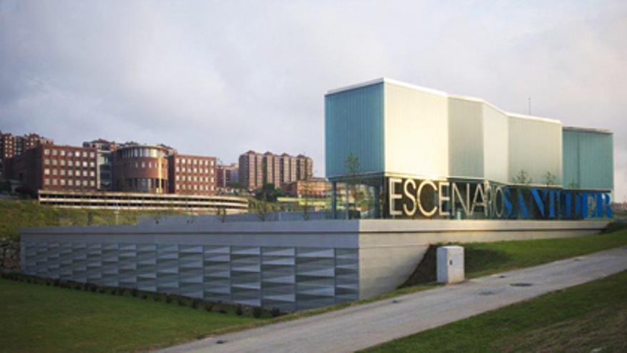 Exterior del edificio de Escenario Santander.