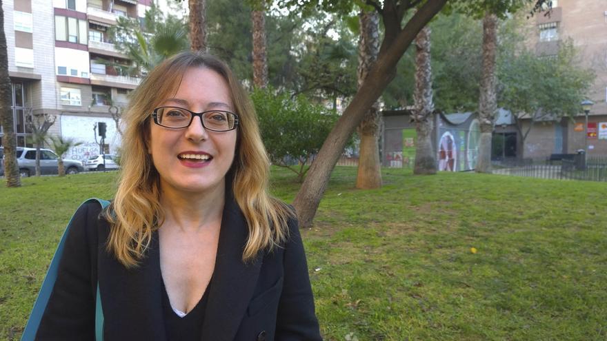 Cristina Morano, diseñadora gráfica y poeta / Foto: David Gutiérrez