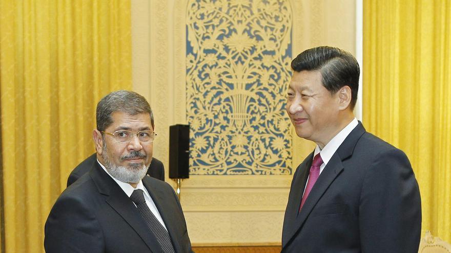 """China acoge al presidente egipcio como """"un nuevo amigo"""""""