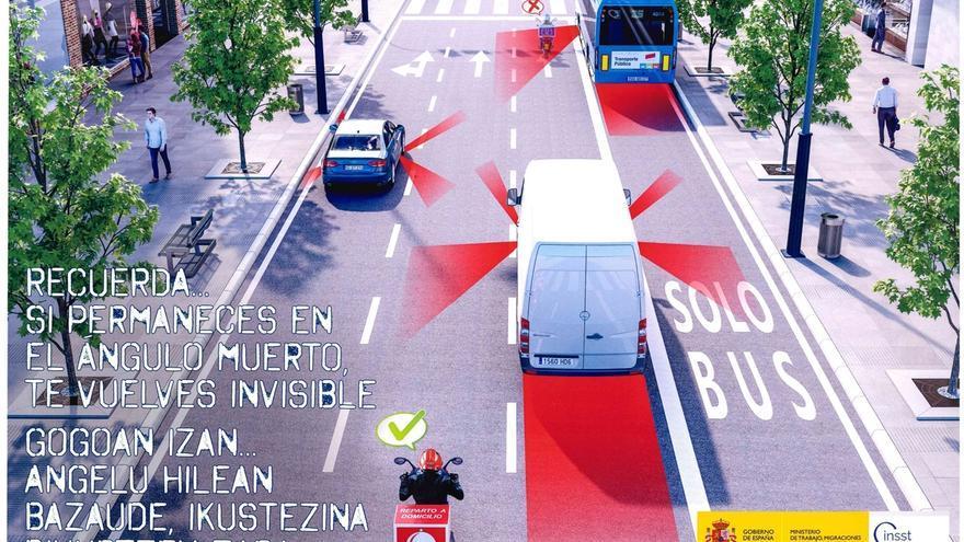 Salud Laboral advierte a empresas y motoristas de reparto de comida de la necesidad de prevención en seguridad vial
