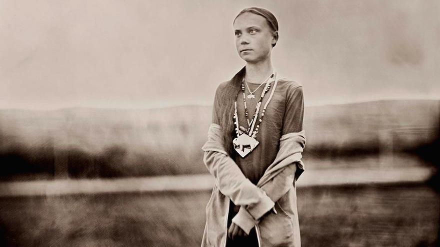 Greta nació en Estocolmo el 3 de enero de 2003. Hace tres años que milita al frente del movimiento Viernes por el futuro.