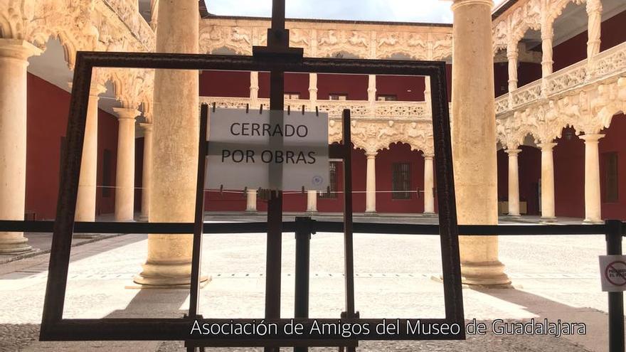 Patio interior del Palacio del Infantado. FOTO: Asociación de Amigos del Museo de Guadalajara