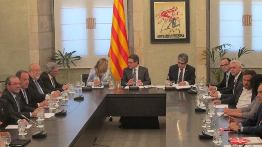 """Junqueras (ERC) ve un """"consenso amplio"""" para que la sociedad civil se involucre en la consulta"""