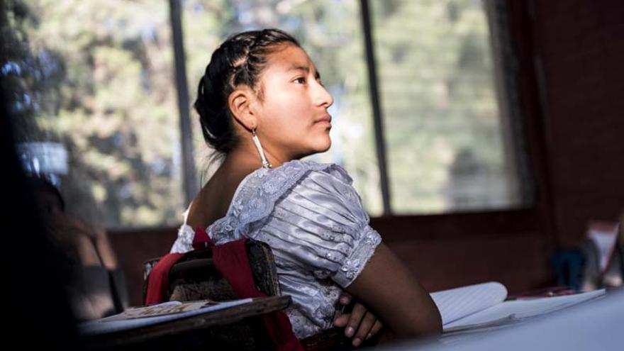 La educación, una oportunidad para mejorar la vida de las niñas