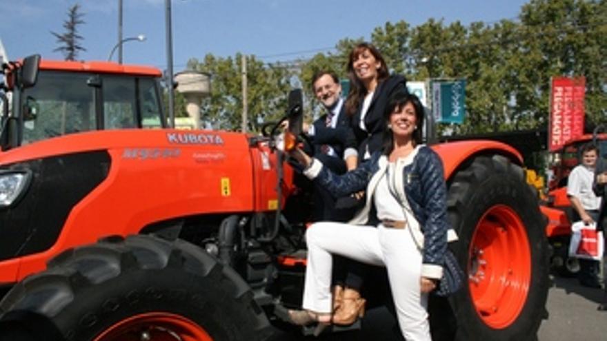 Mariano Rajoy, Alicia Schez.Camacho y Dolors López