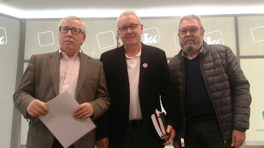 IU pide el voto a los trabajadores como el único partido que ha defendido sus necesidades en el Congreso