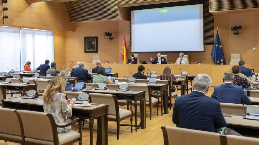 Reunión de la Comisión de Asuntos Exteriores en el Congreso de los Diputados