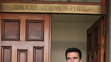 José Manuel Soria, a la salida de los Juzgados, en una imagen de archivo.