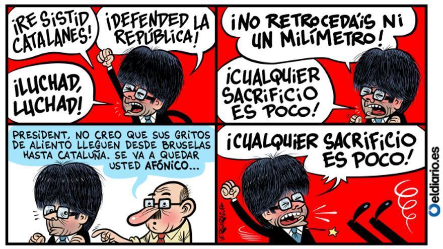 La revolución según Puigdemont