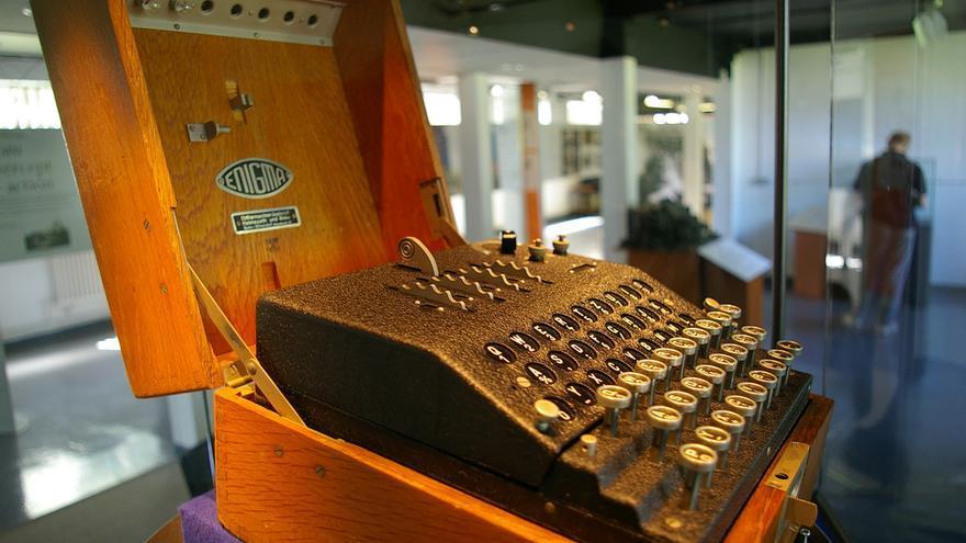Máquina Enigma. Bletchley Park (Reino Unido)