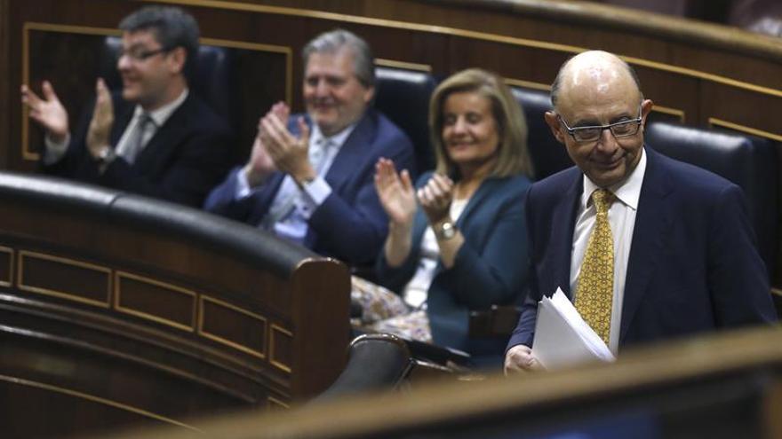 El Congreso avala el techo de gasto de 2018 que conllevará rebajas en el IRPF