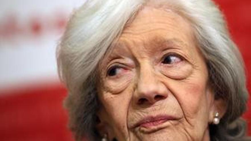 """Ana María Matute: """"Todavía no se me ha terminado la juventud"""""""
