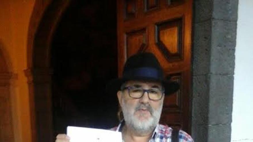 Antonio Érmetes Brito, concejal de Izquierda Unida Canaria en el Ayuntamiento de Santa Cruz de La Palma.