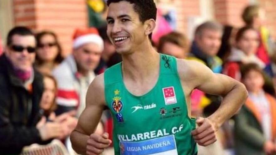 Jaouad Tougane durante una prueba en 2016