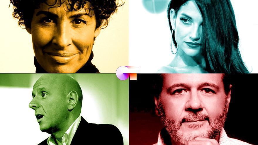 Los cuatro jueces de 'OT 2020'