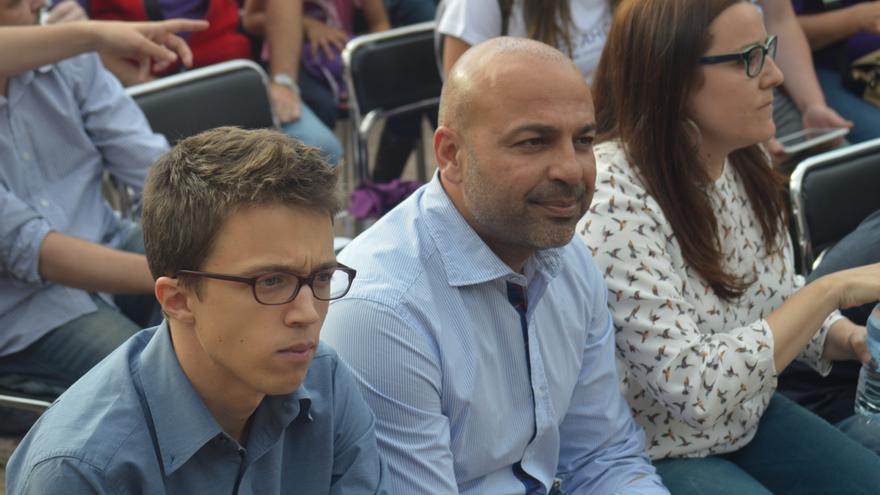 Íñigo Errejón y José García Molina, Podemos / Foto: Javier Robla