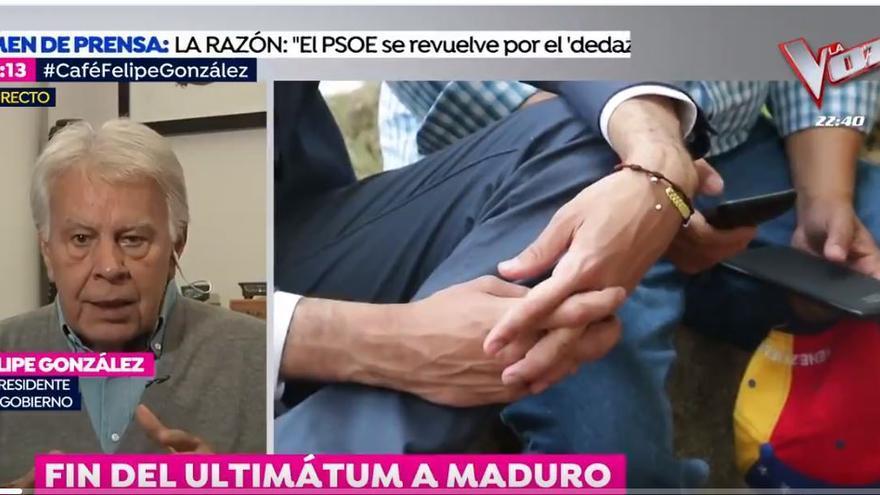 Felipe González habla sobre Venezuela en Espejo Público