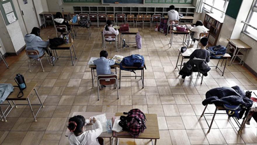 Escuelas en clases presenciales