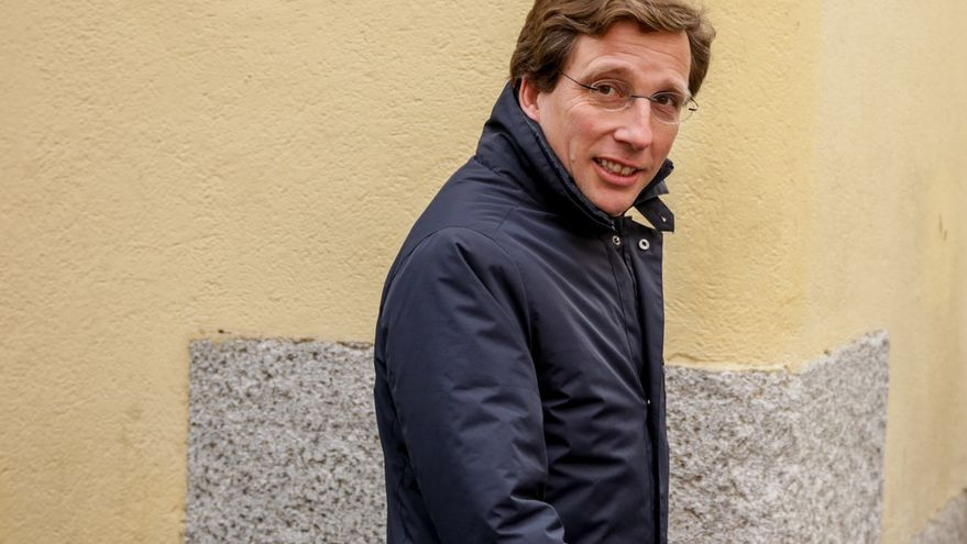 El alcalde de Madrid, José Luis Martínez-Almeida. / Europa Press