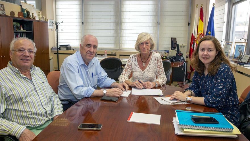 """La Consejería de Educación """"estudiará"""" el acondicionamiento y mejora del colegio Leopoldo y Josefa del Valle"""