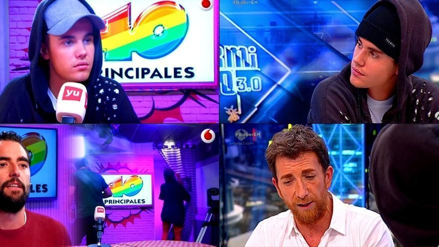 Bieber da la nota en España: apático en 'El Hormiguero' y espantada de 'Los 40'